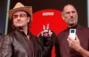 BONO APPLE JOBS U2
