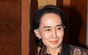 Aung San Suu Kyi a Roma