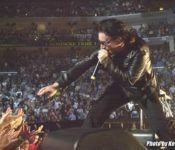 Bono il 24 marzo del 2001 foto Kevin Mazur