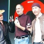 steve_jobs, bono e The Edge ipod