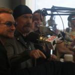 U2 alla radio di Boston