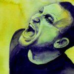 Un ritratto di Bono fatto dall'artista americana Kelly Eddington.